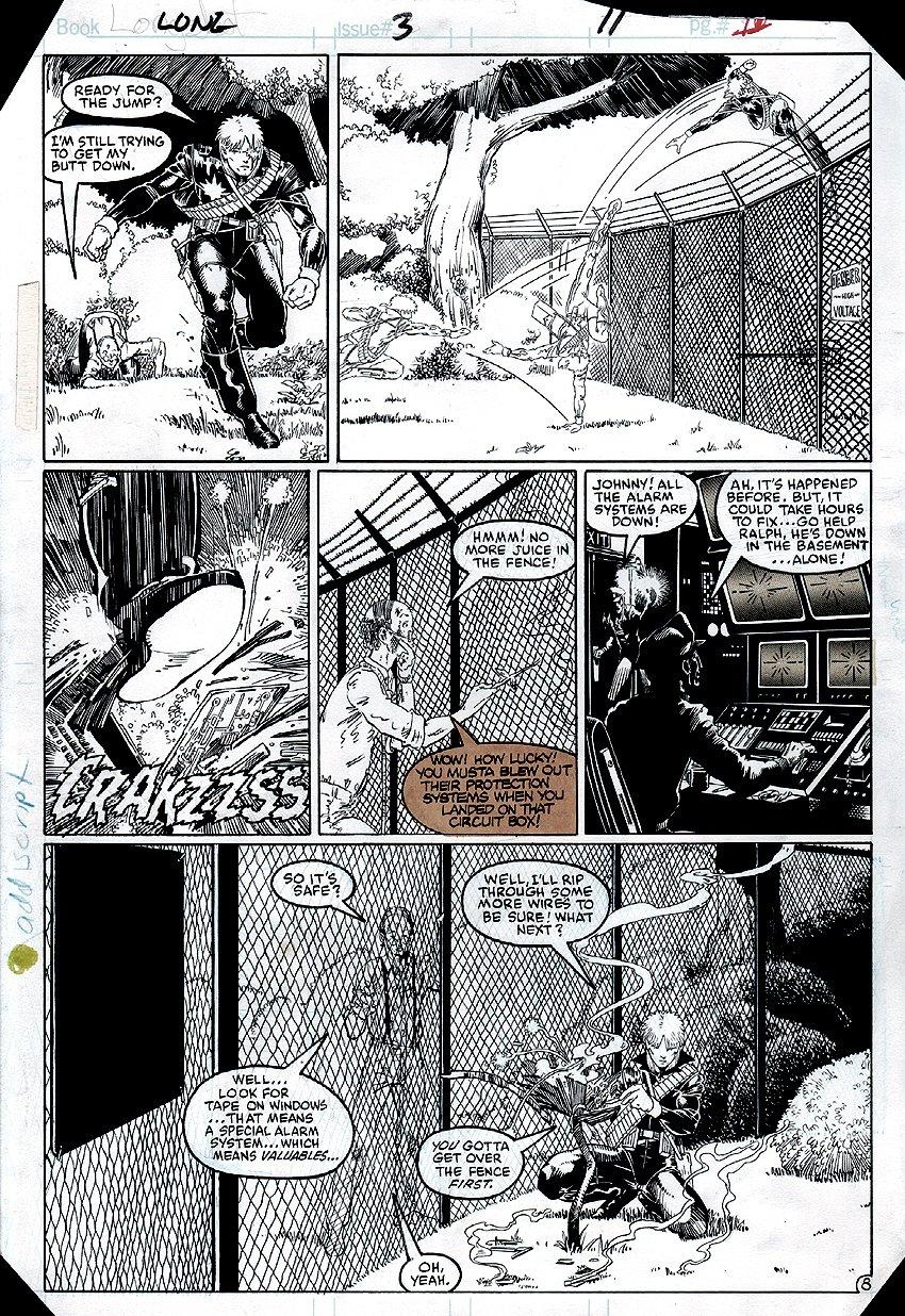 Longshot #3 p 8 (1985)