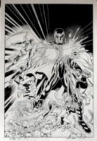 X-Men: Blue #2 Cover (VERY LARGE) 2017 Comic Art