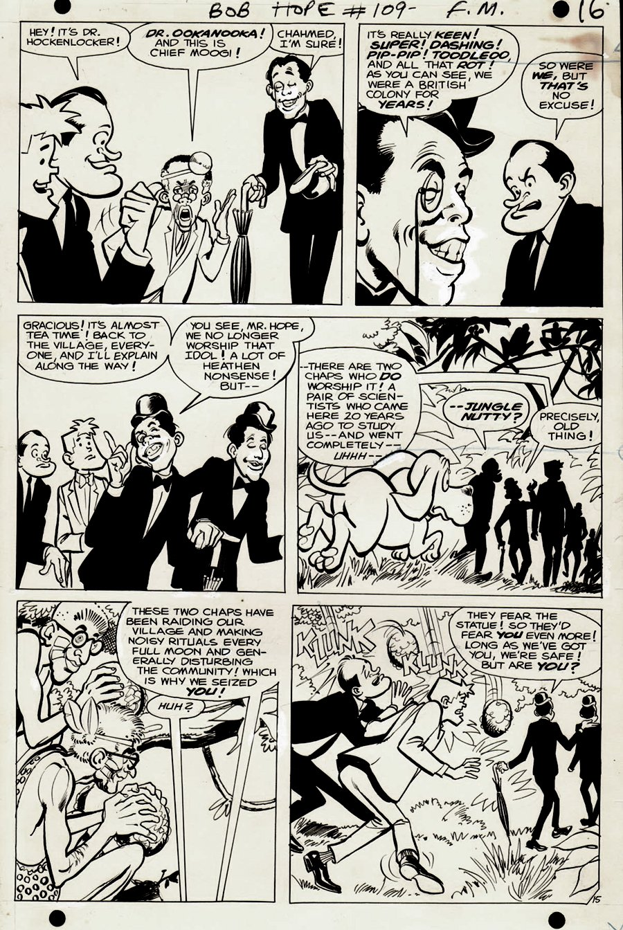 Adventures of Bob Hope #109 p 15 (LAST ISSUE) 1968