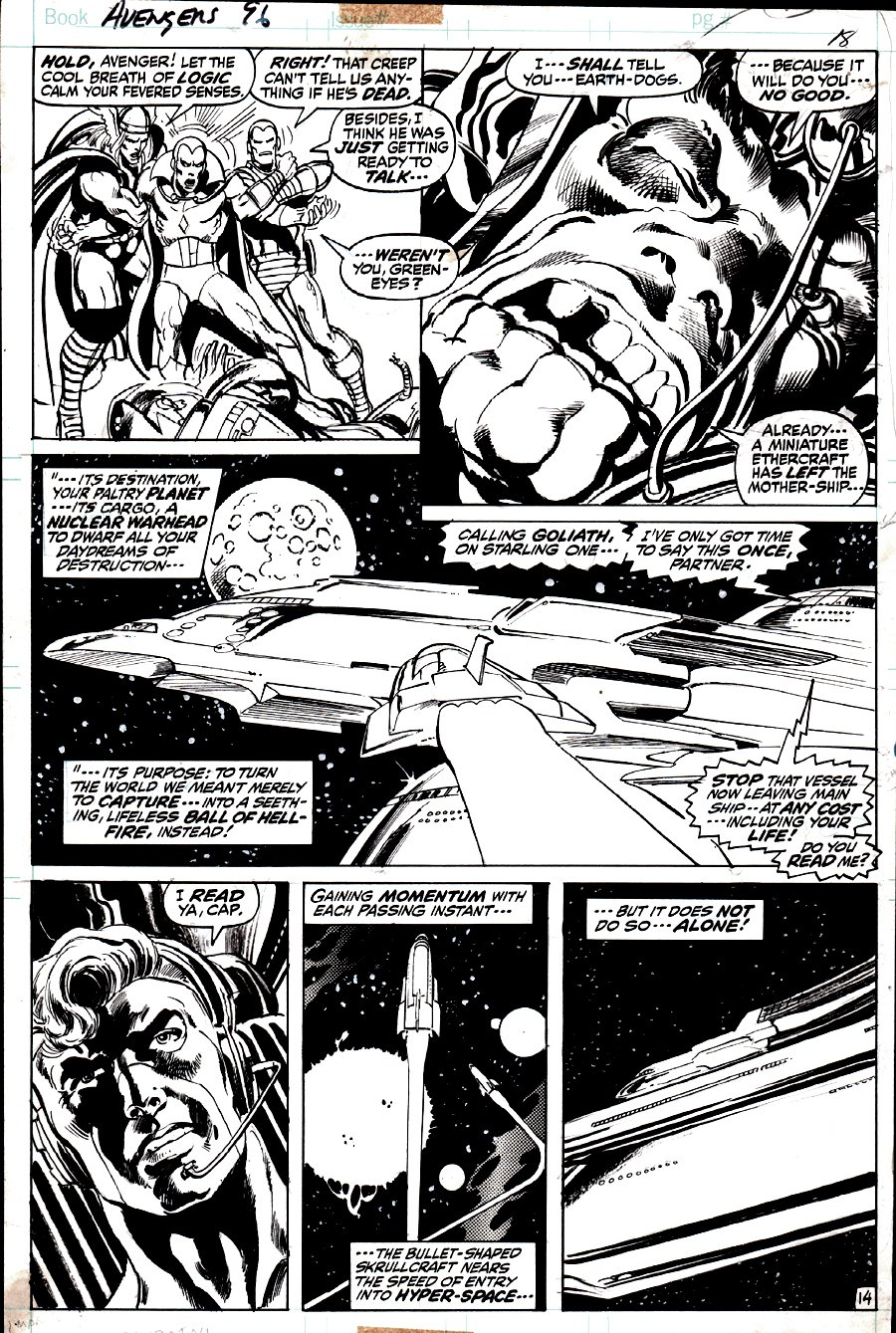 Avengers #96 p 14 (1971)