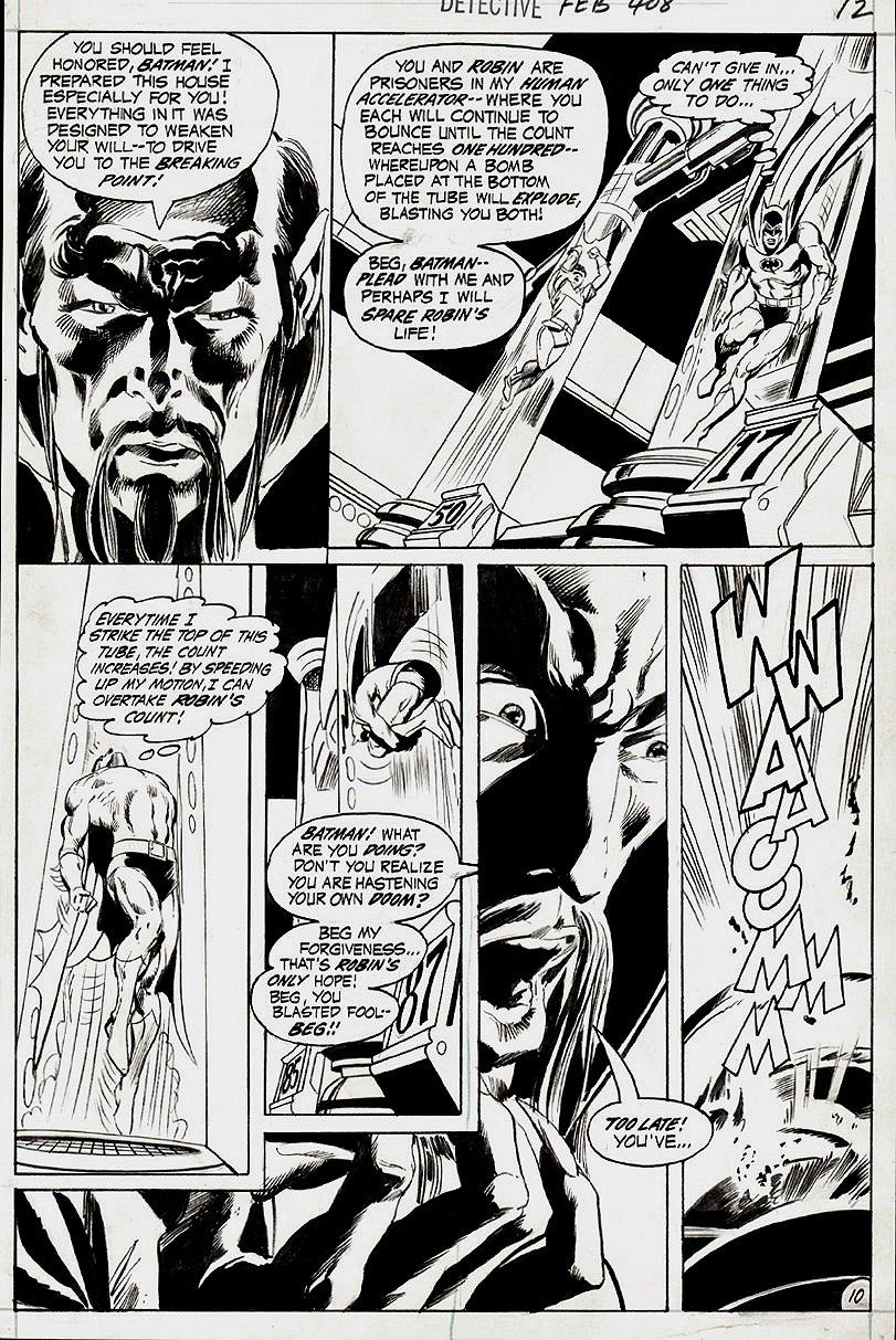 Detective Comics #408 p 10 (1970)
