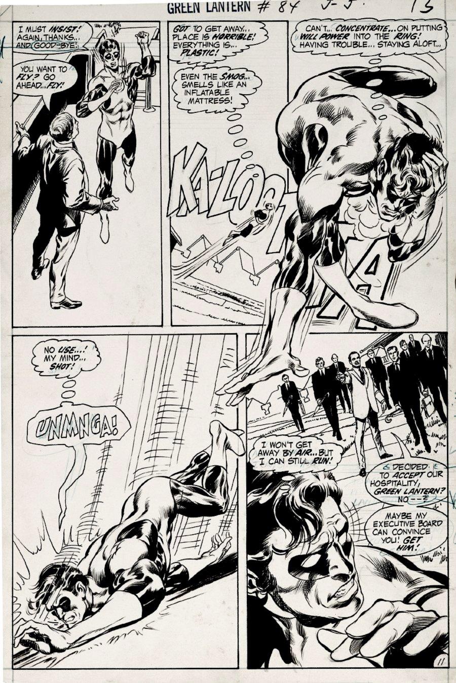 Green Lantern #84 p 11 (1971)