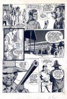 Six Million Dollar Man Magazine Issue 2 Page 15 (1976) Comic Art