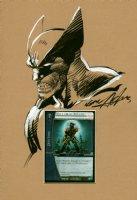Wolverine Pinup Comic Art
