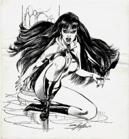 Warren Companion Published Vampirella Pinup Page 89 Comic Art