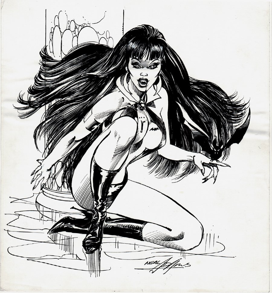 Warren Companion Published Vampirella Pinup Page 89