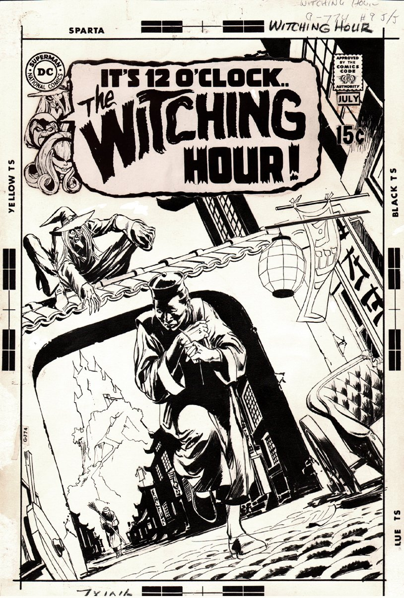 Witching Hour #9 Cover (1970)