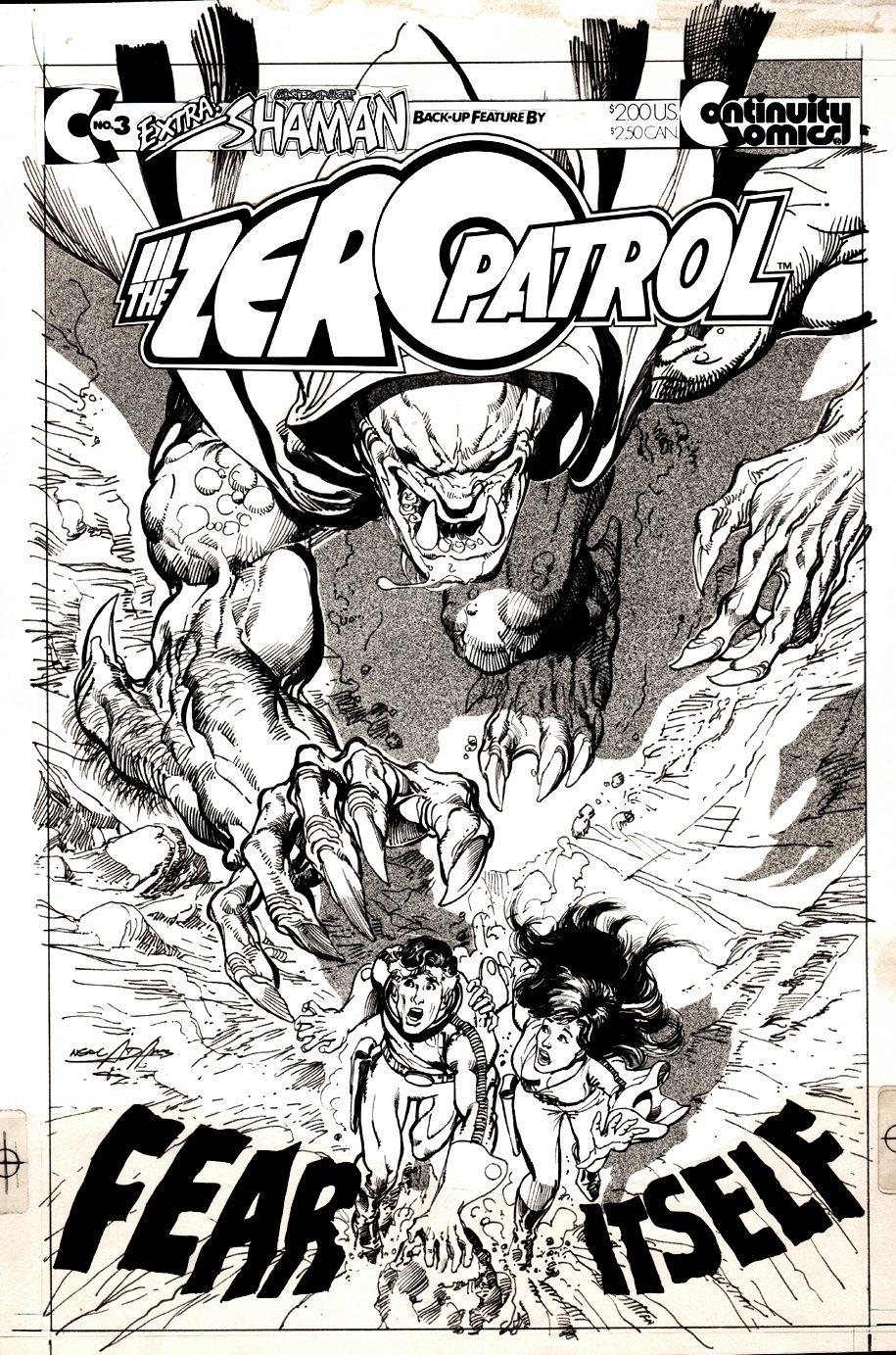 Zero Patrol #3 Cover (1987)