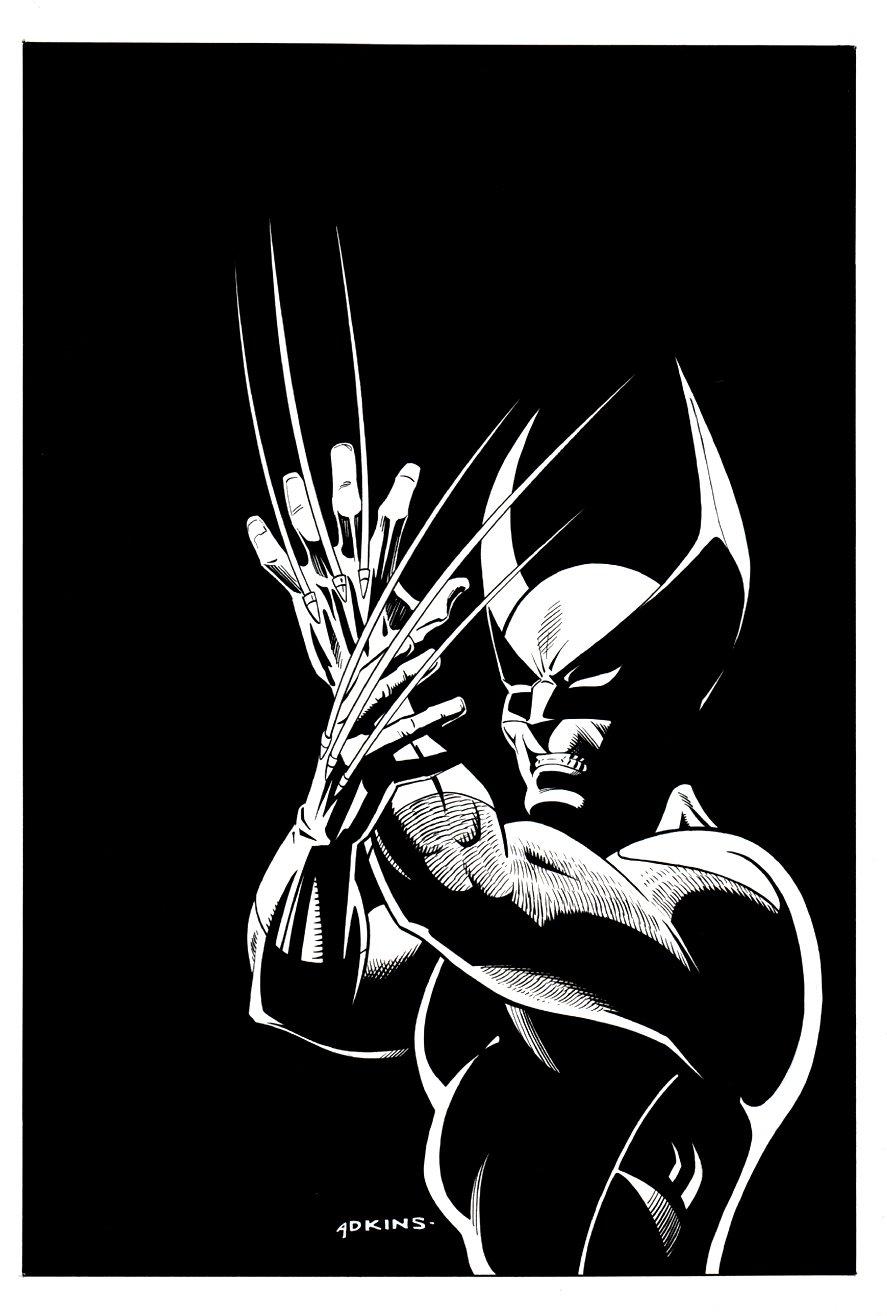 Wolverine Pinup (1997)