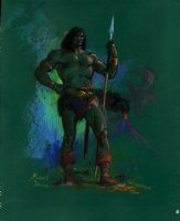 Conan Painted Commission Pinup Comic Art