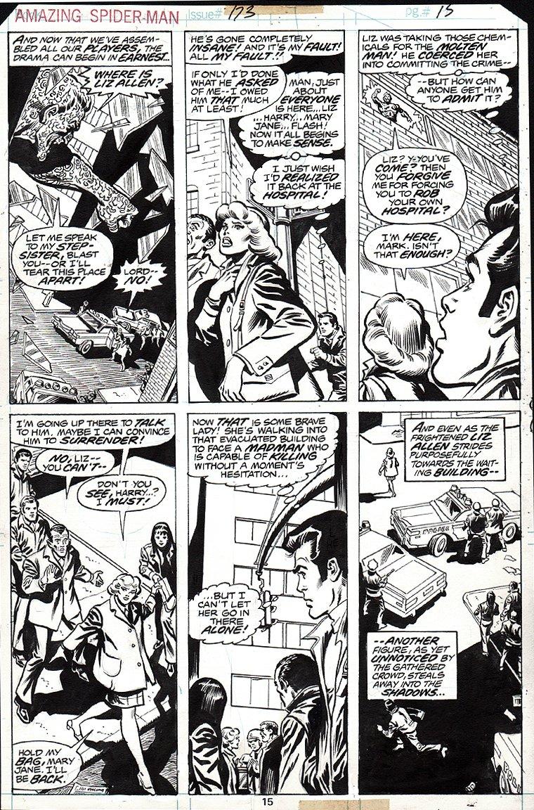 Amazing Spider-Man #173 p 15 (1977)