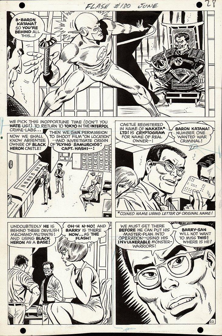 Flash #180 p 22 (1968)