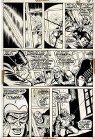 Doc Savage #1 p 11 (1972) Comic Art