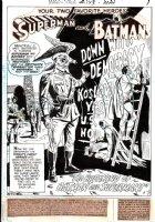World's Finest Comics Issue 193 Page 1 SPLASH  (1969)  Comic Art