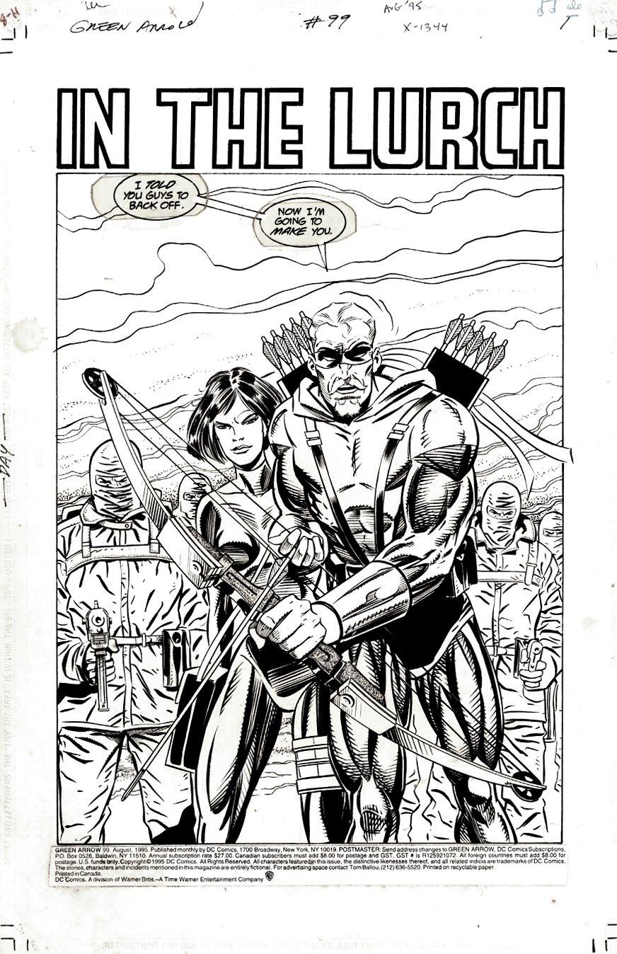 Green Arrow #99 p 1 SPLASH (1995)