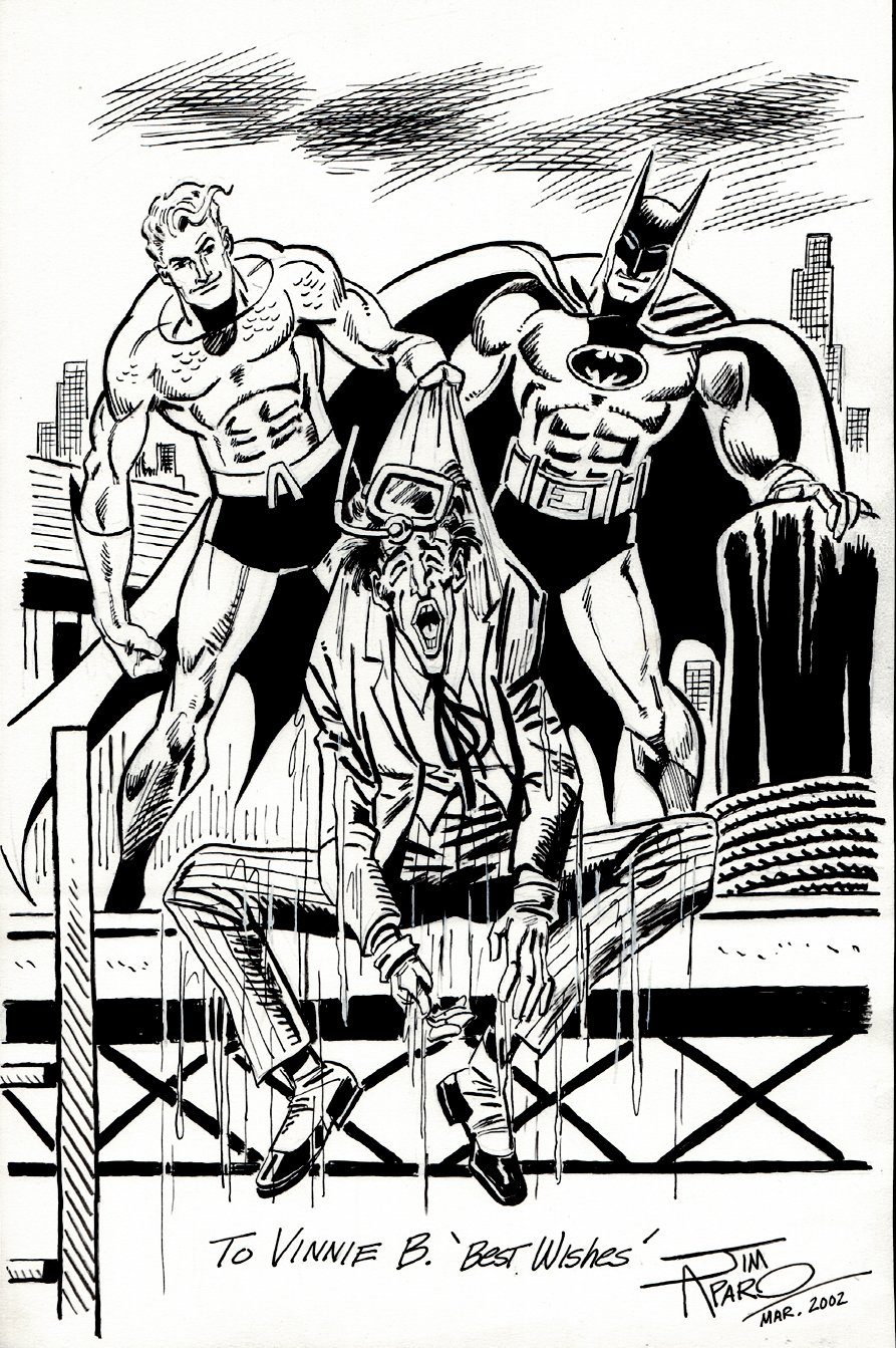 Batman / Joker/ Aquaman Pinup (2002)