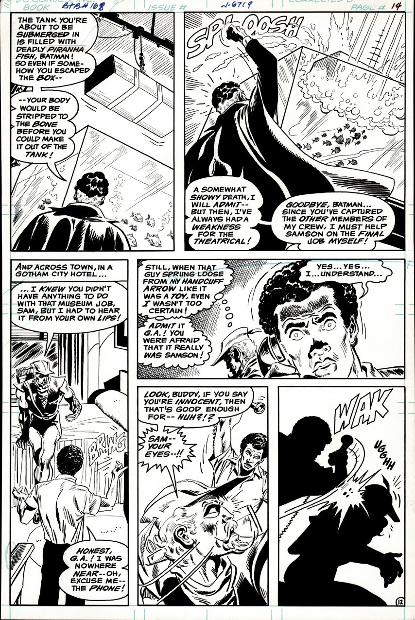 Brave and the Bold #168 p 12 (1980)