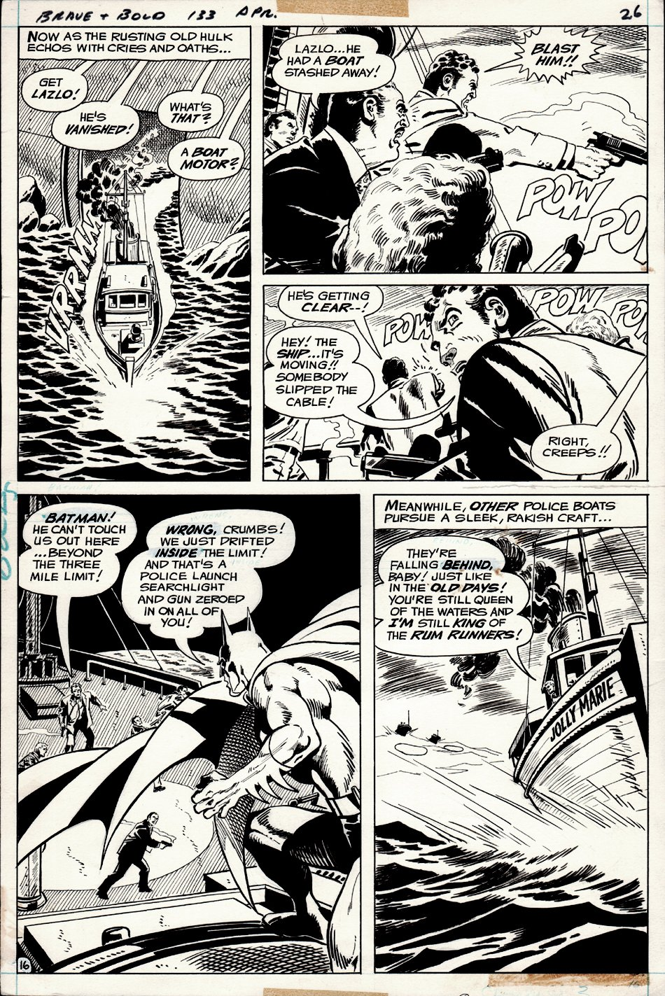 Brave and the Bold #133 p 16 (1976)