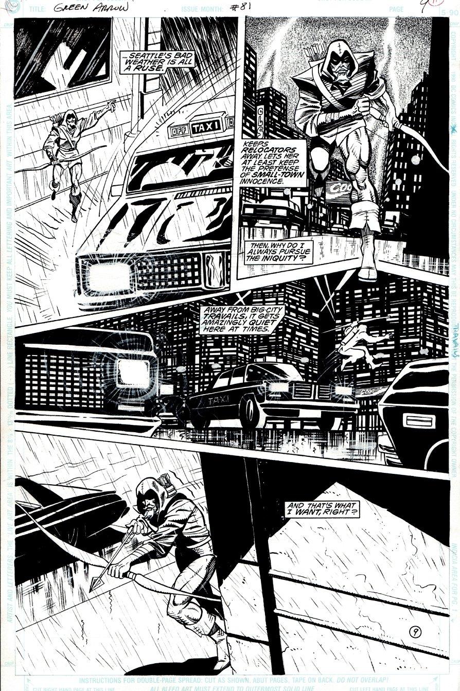 Green Arrow #81 p 9 (1993)