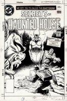 Secrets of Haunted House #7 Cover (1977) Comic Art