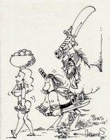 GROO Pinup (1985) Comic Art
