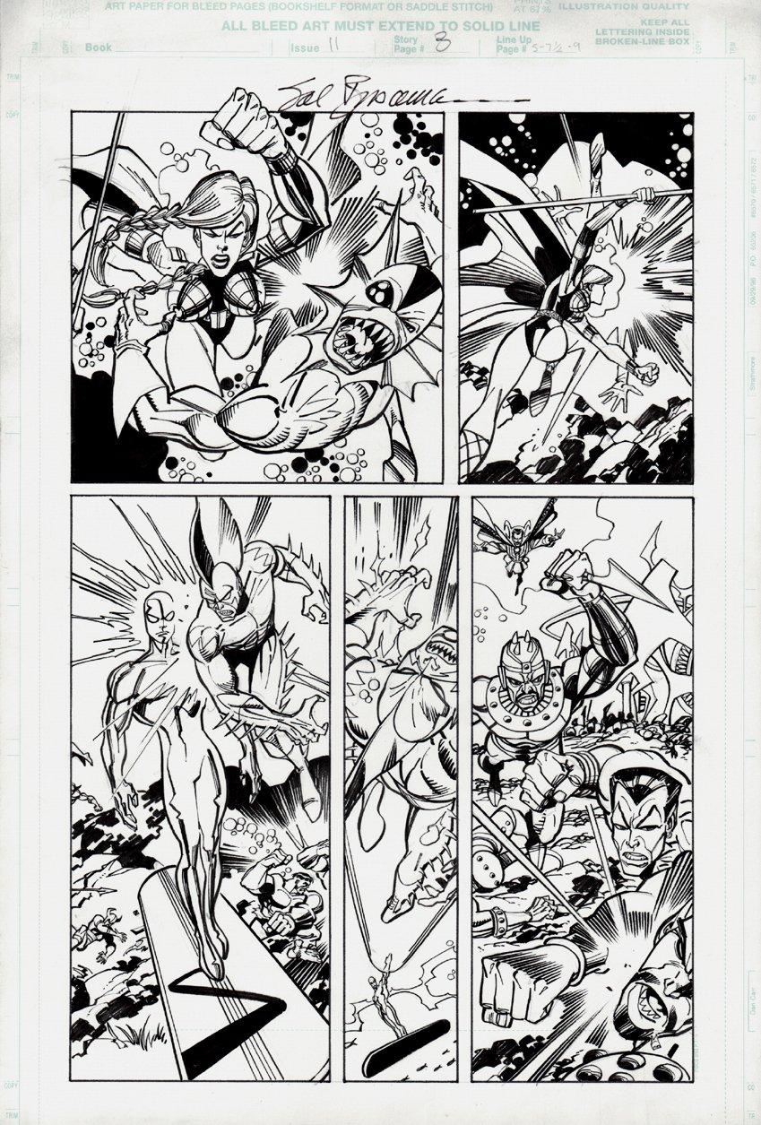 Defenders #11 p 8 (2001)