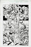 Defenders #11 p 8 (2001) Comic Art