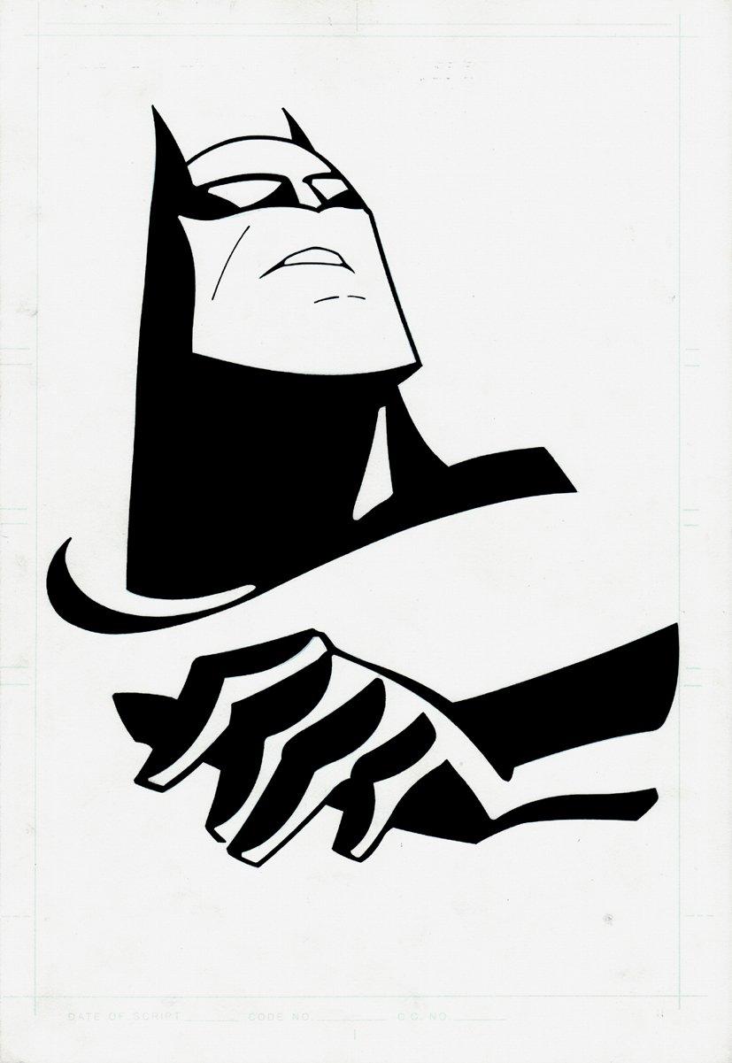 Batman DC Advertising Art