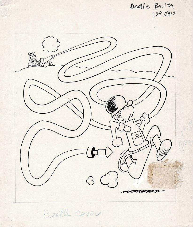 Beetle Bailey #104 Cover (1973)