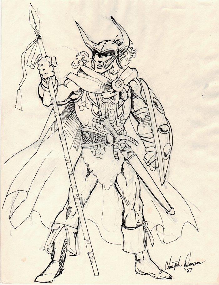 Warrior Pinup (1987)