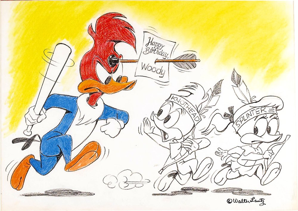 Happy Birthday, Woody Woodpecker