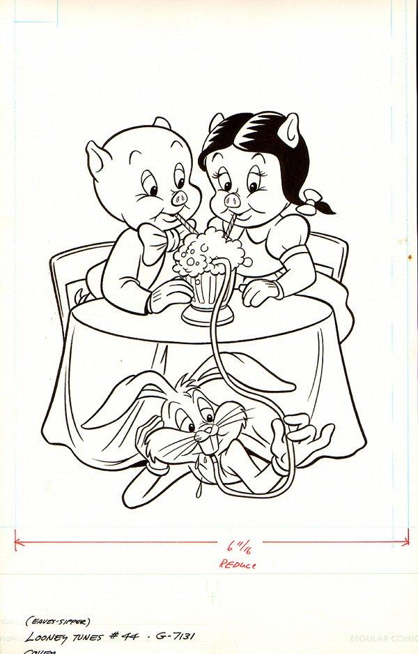 Looney Tunes #44 Cover (1982)