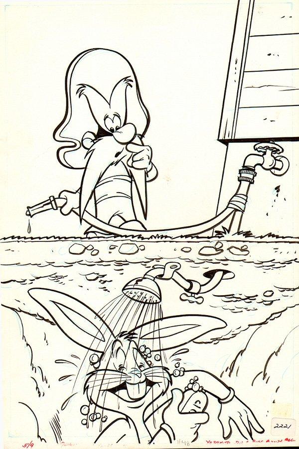 Yosemite Sam and Bugs Bunny #48 Cover (1977)