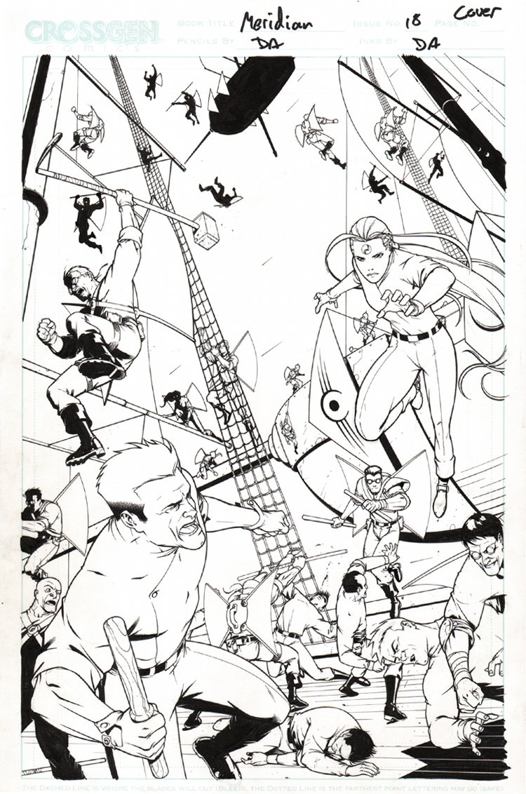 Meridian #18 Cover (2001)