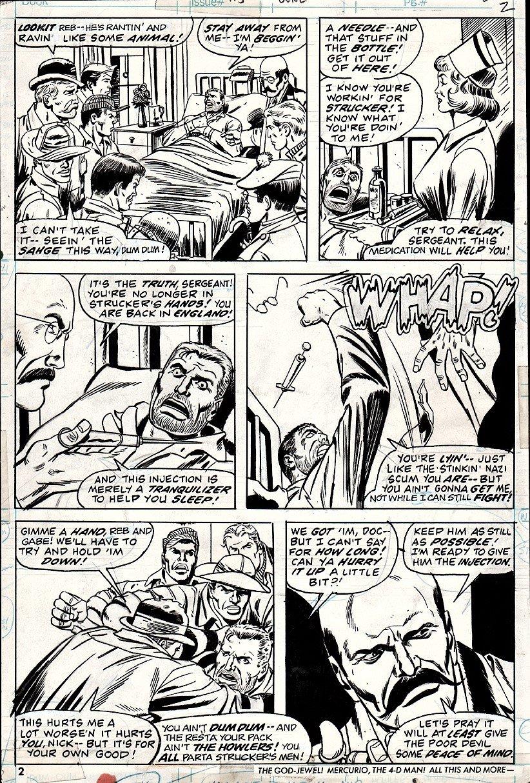 Sgt. Fury #115 p 2 (1973)