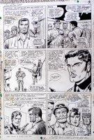 Sgt. Fury #30 p 5 (Large Art) 1965 Comic Art