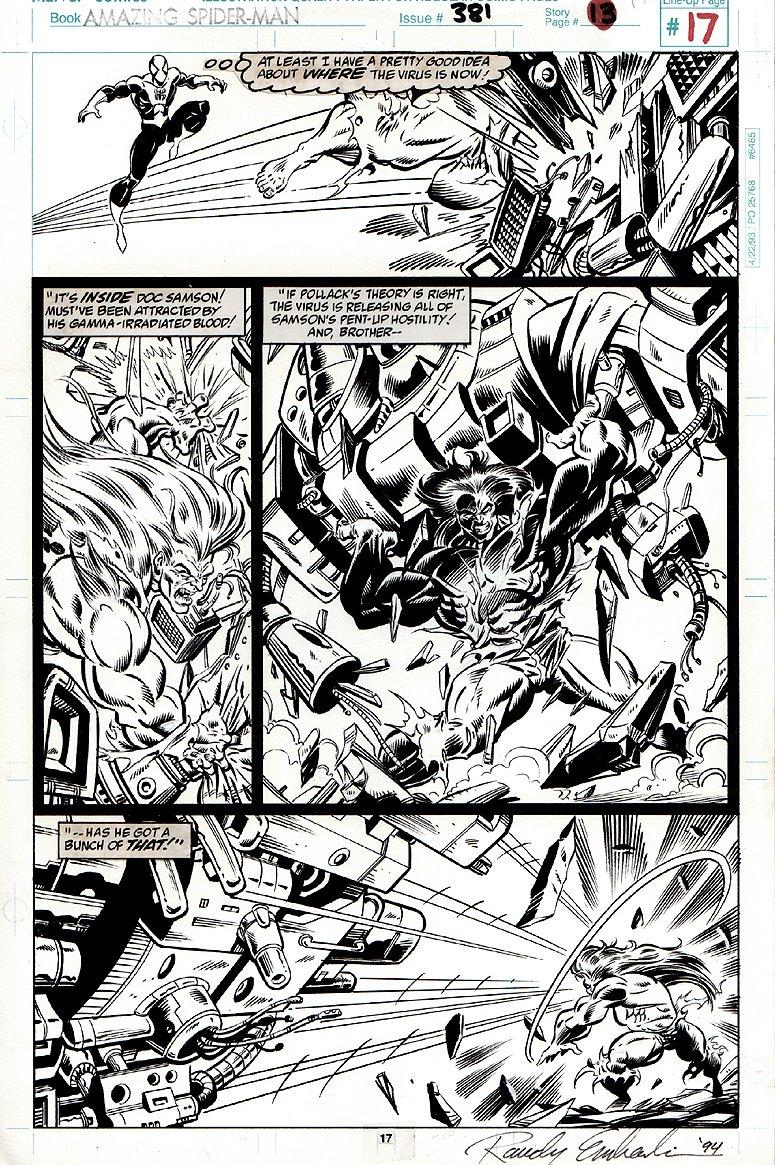 Amazing Spider-Man #381 p 17 (1993)