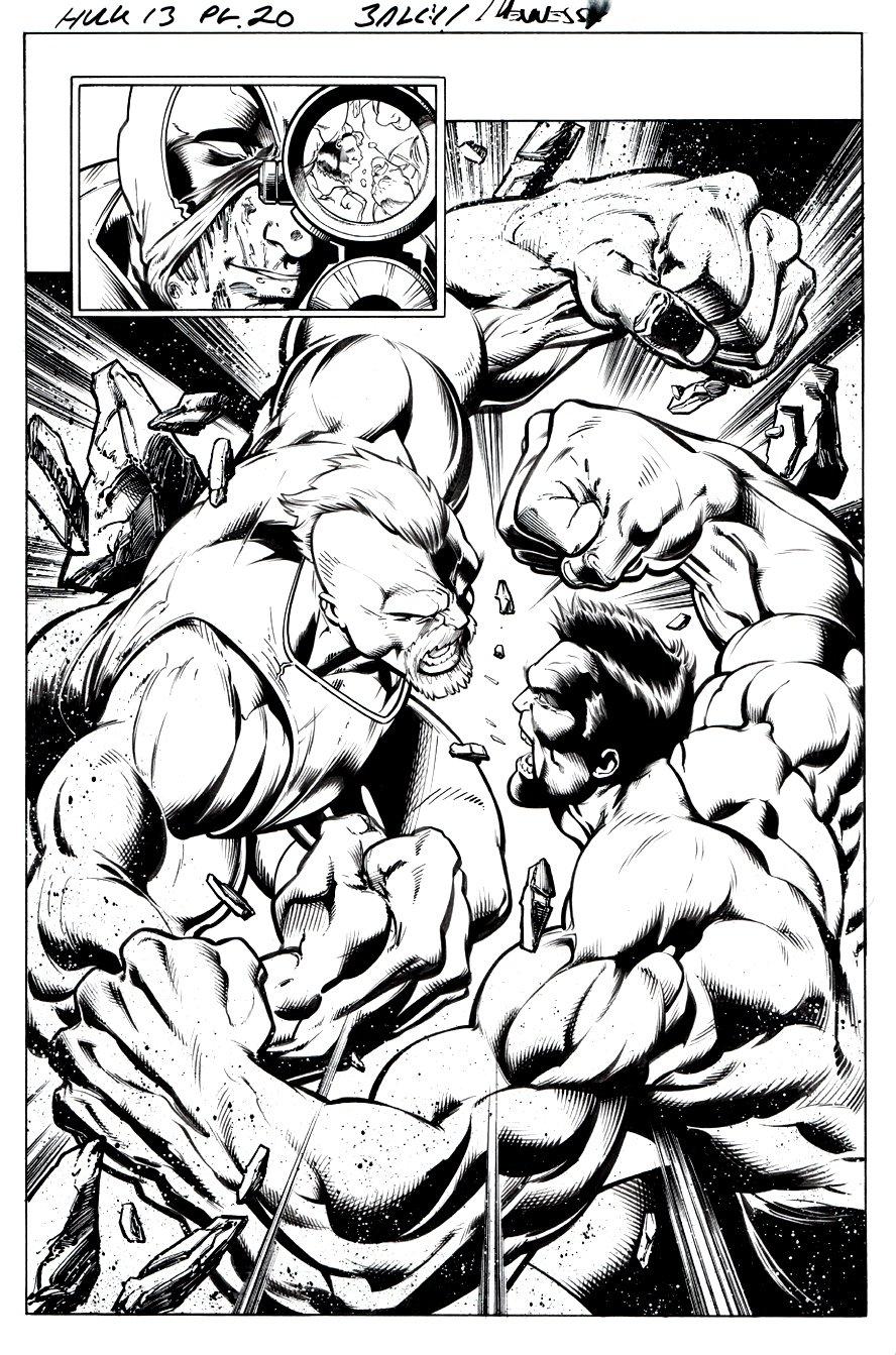Hulk #13 p 20 SPLASH (2015)