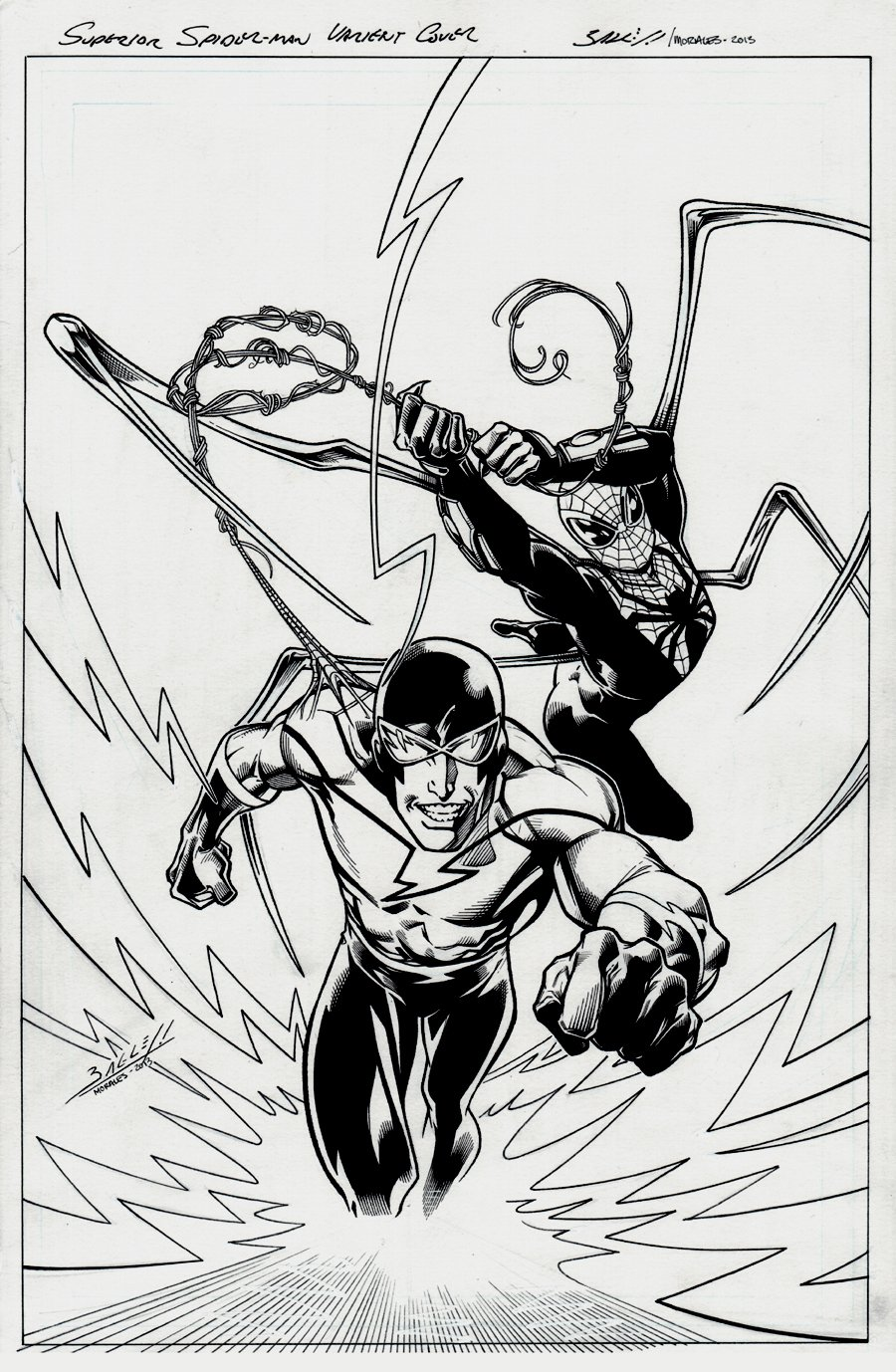Superior Foes of Spider-Man #3 Cover (2013)