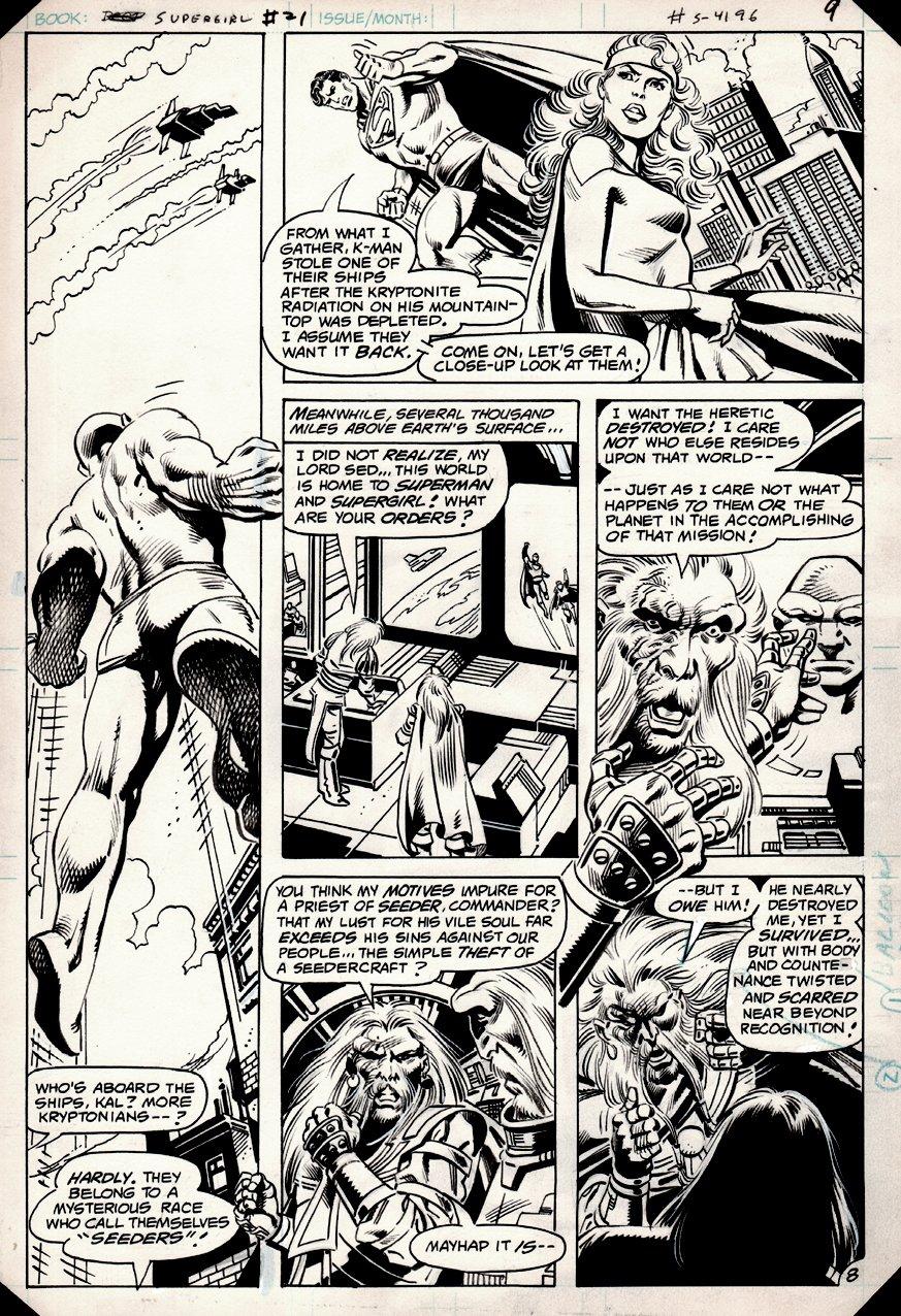 Supergirl #21 p 8 (1983)