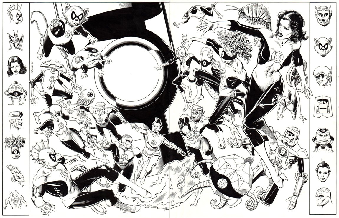 Who's Who Of The DC Universe #9 (Double Page SPLASH) 1985