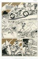 Batman #437 p 4 'Batman: Year Three' Story Arc (1989) Comic Art