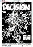 Green Lantern #24 p 1 SPLASH (1992) Page sb Comic Art