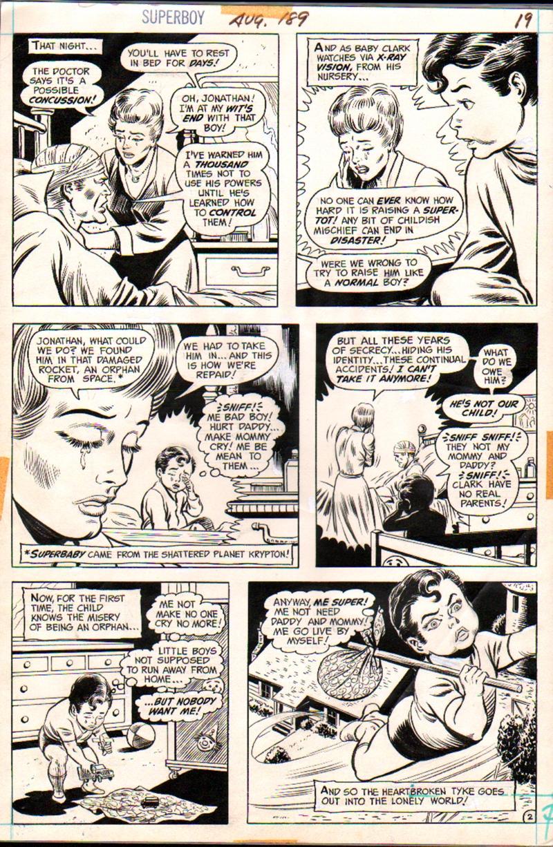 Superboy #189 p 2 (1972)