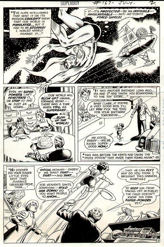 Superboy #167 p 2 (1970)