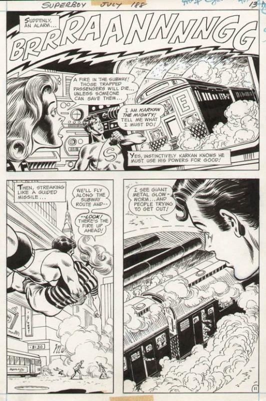 Superboy #188 p 11 (1972)