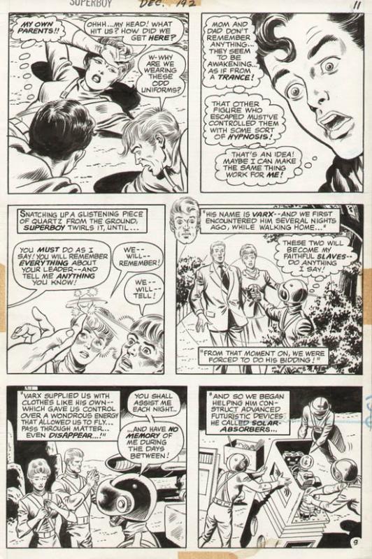 Superboy #192 p 9 (1972)