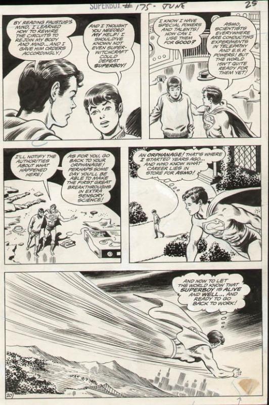 Superboy #175 p 20 (1971)