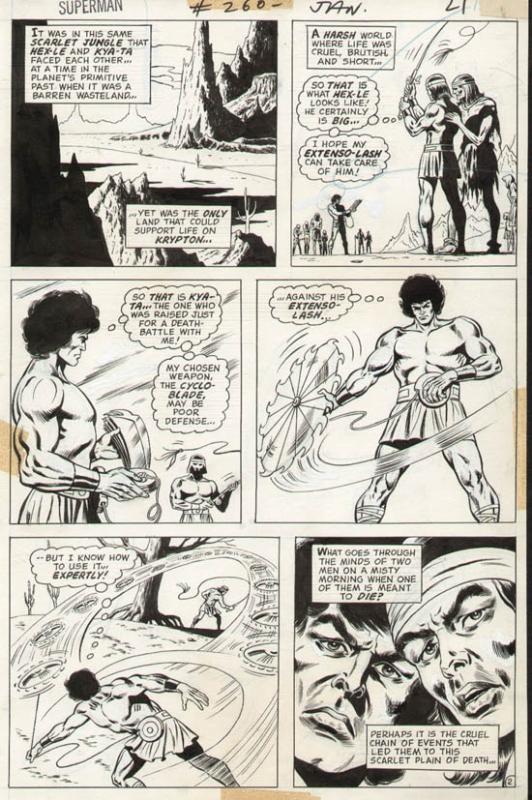 Superman #260 p 2 (1972)