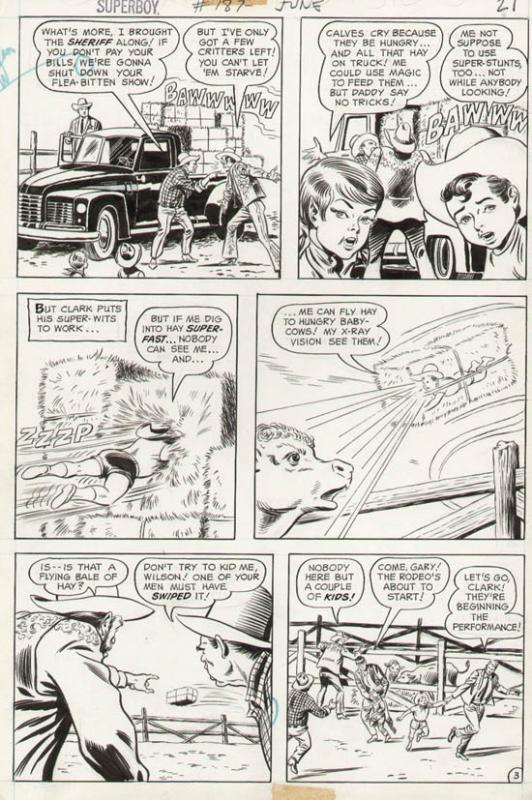 Superboy #187 p 3 (1972)